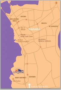 Bahrain City Centre - BCC location map
