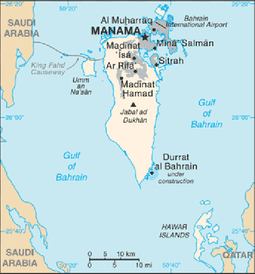 where is bahrain